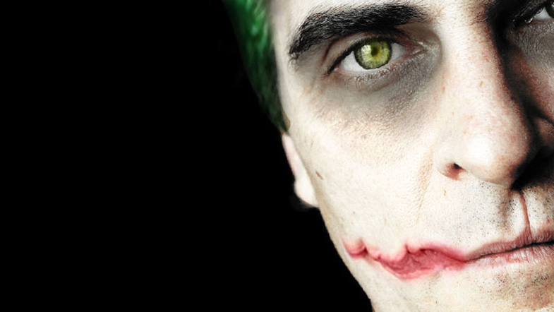 Joaquin Phoenix as the Joker