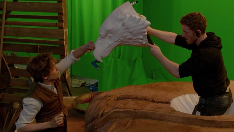 Griffon fantastic beasts vfx special effects cgi behind the scenes