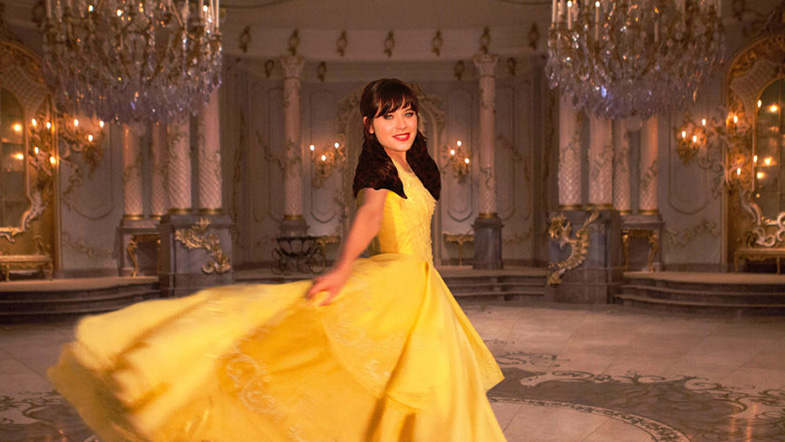 Zooey Deschanel as Belle