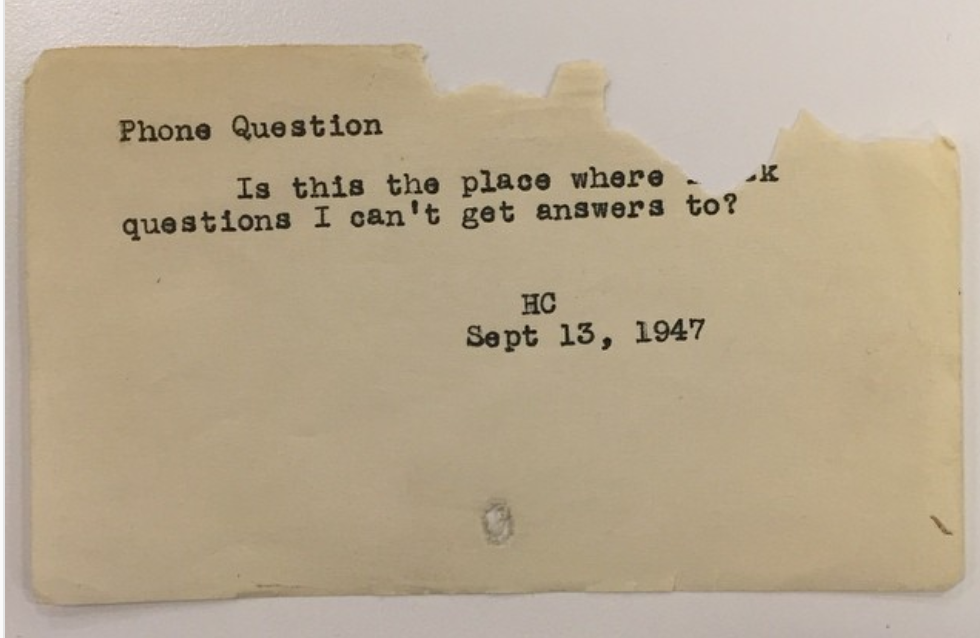 Hilarious Questions People Asked NYPL Librarians