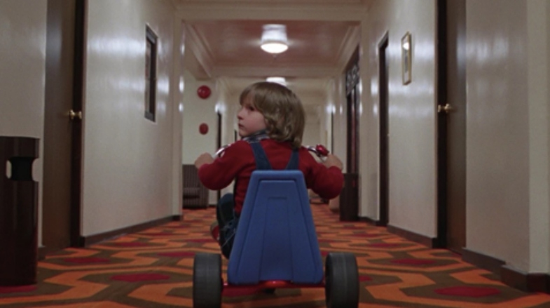 The carpet in the hotel of 'The Shining'