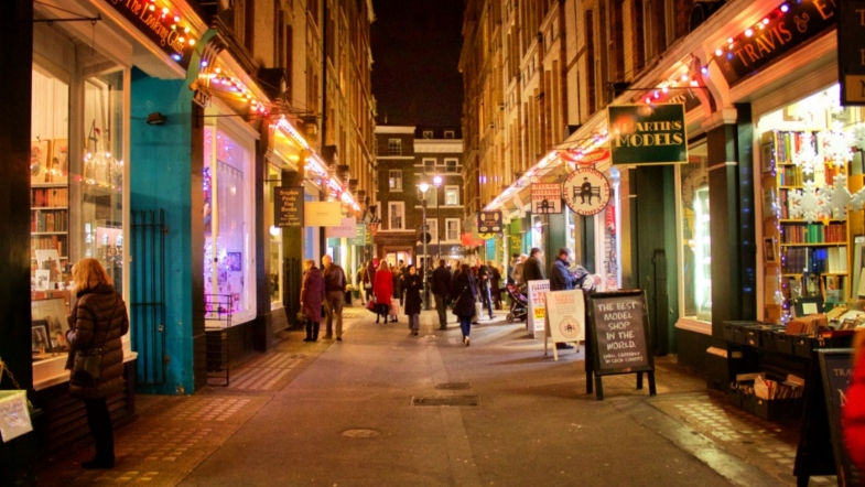 This Street in London Is Diagon Alley for Book Lovers!