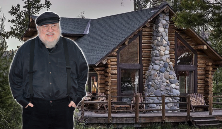 George R.R. Martin Commits to Staying in Cabin in Mountains Until 'Winds of Winter' Complete