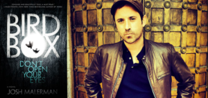 Josh Malerman with hit novel, 'Bird Box'