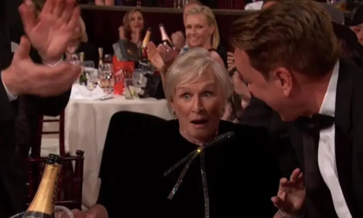 Glenn Close's Empowering Golden Globes Speech Leaves Everyone in Tears