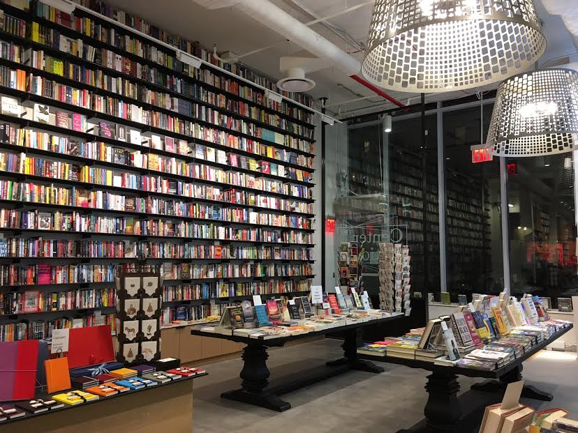 The Center for Fiction Bookstore