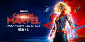 'Captain Marvel' Release March 8th