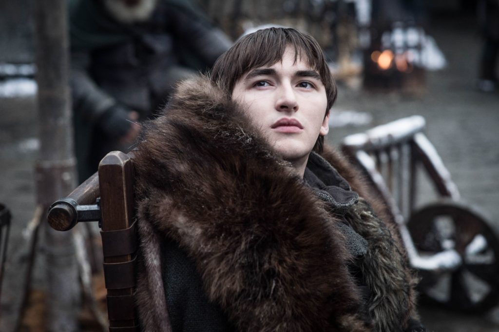 Bran in the Courtyard of Winterfell