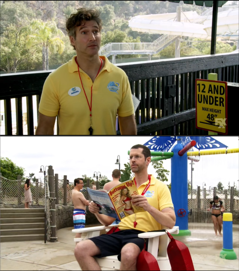 David Benioff and D.B. Weiss as 'bored lifeguards'
