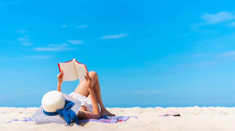 Time for summer vacation... and your next book!