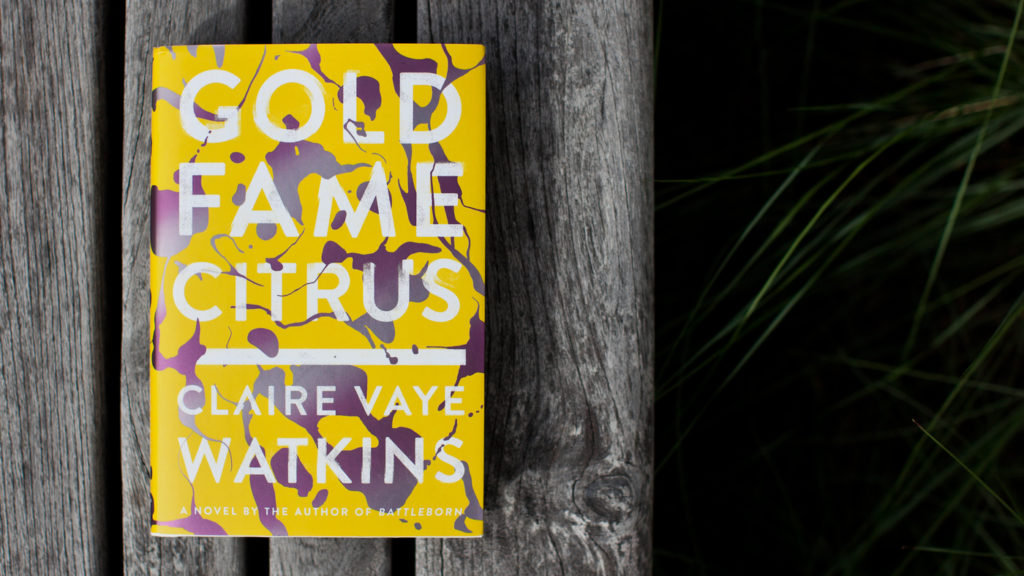 Gold Fame Citrus by Claire Vaye Watkins book cover