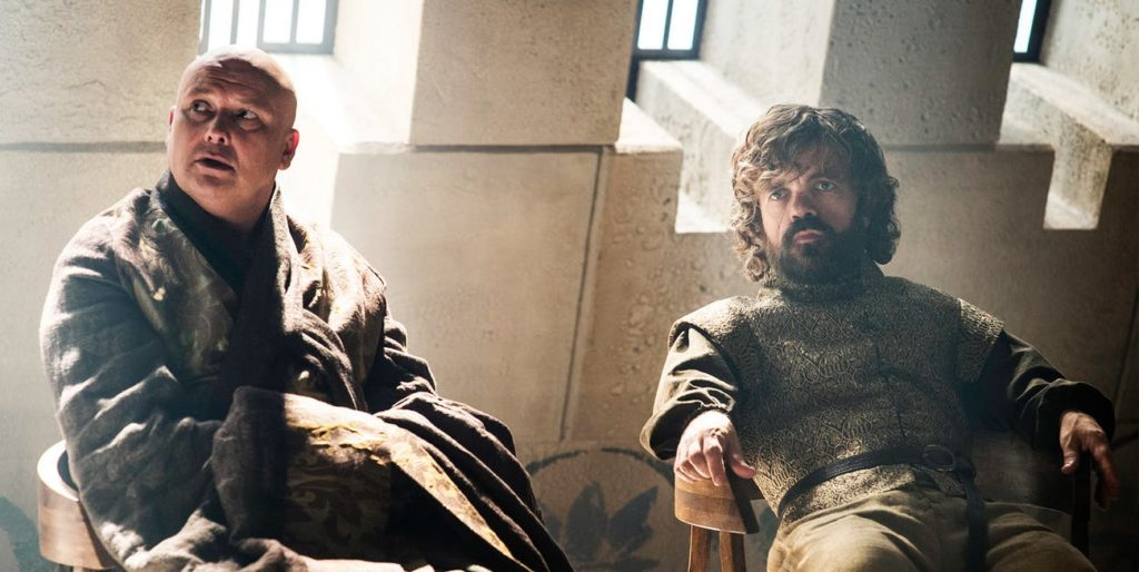 Lord Varys and Lord Tyrion
