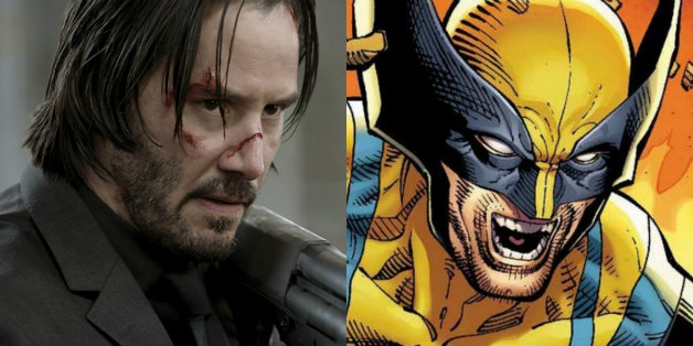 Keanu Reeves and Comic Book Wolverine