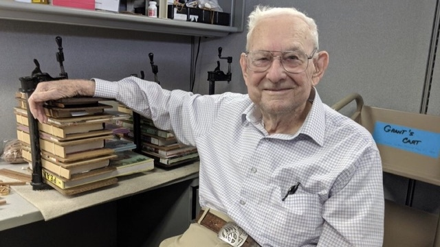 Kansas 'Master Book Mender' Finds New Life in Old Books