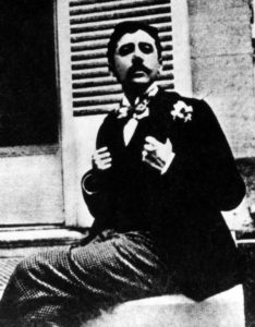 Proust looking dapper