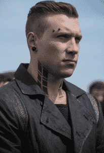 Eric Coulter in Divergent movie series