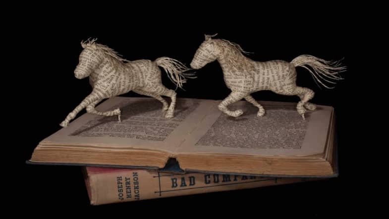 3 Artists Bringing Books to Life with Their Book Sculptures