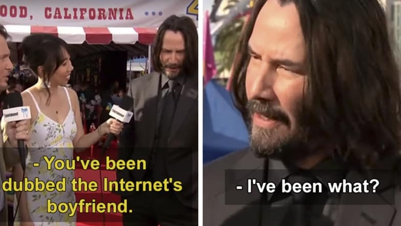 What if Keanu Reeves was Your Boyfriend? Like, for Real?