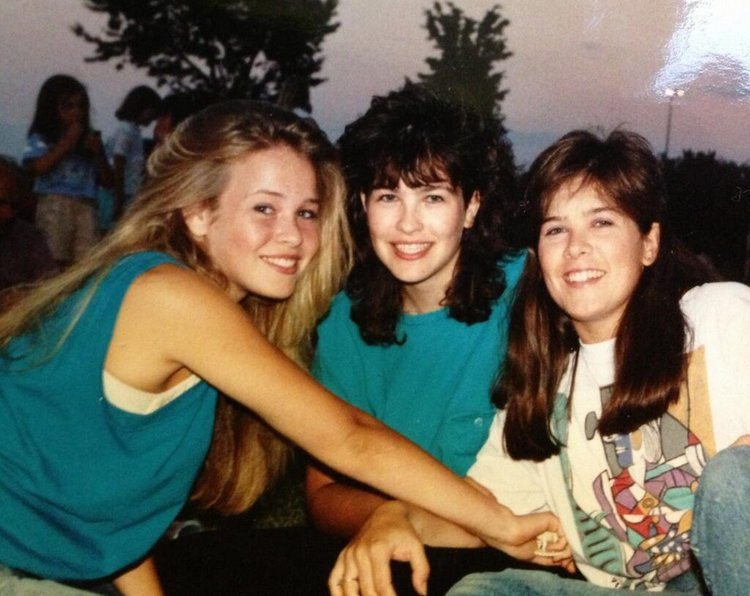 Chelsea Handler in High School
