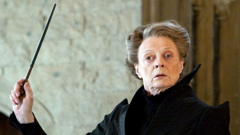 Professor Minerva McGonagall in Harry Potter movies