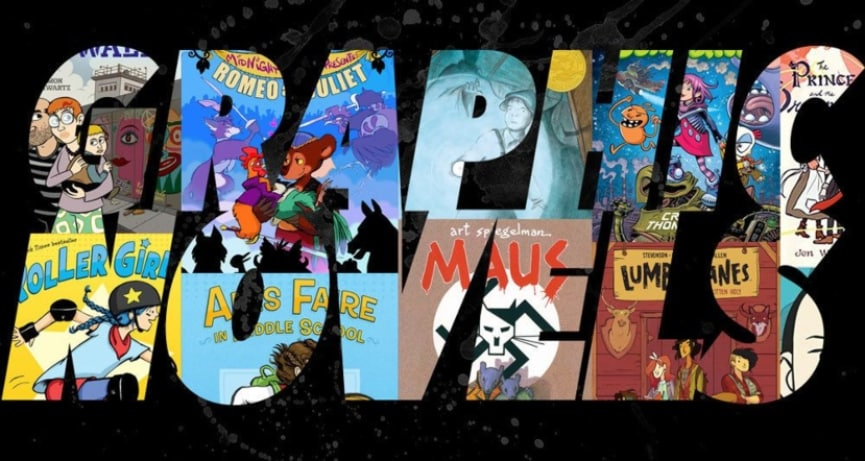 Adult Picture Books: 10 Dope Graphic Novels