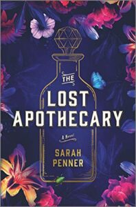 book cover of the lost apothecary