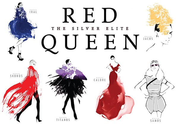 The Red Queen Silver Houses