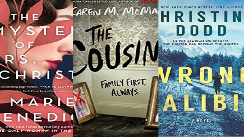 New Thriller Books to Kick off 2021