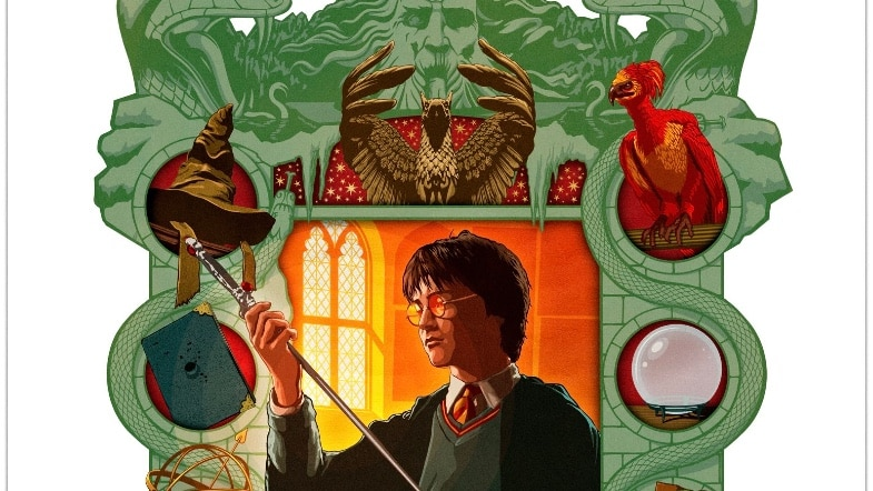 Mina Lima's Illustrated 'Harry Potter and the Chamber of Secrets' Coming This Year!