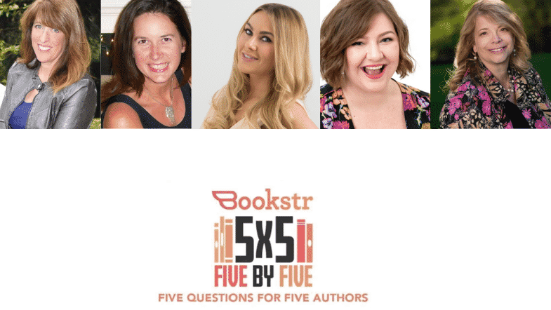 Five Authors For Romance Awareness Month: 5×5