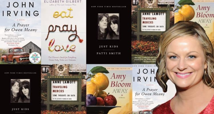 Amy Poehler's Top 5 Favorite Books For 50 Years
